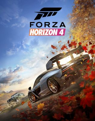 Forza Horizon 4 Large Vertical Art